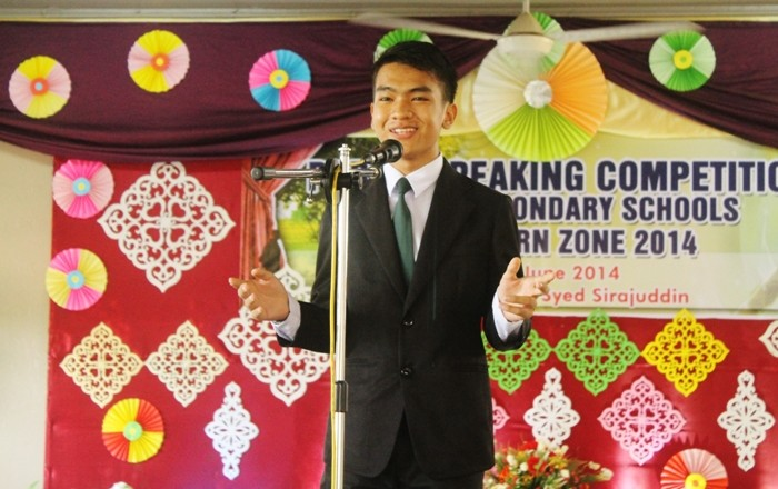 Public Speaking Competition for Perlis Secondary Schools Northern Zone 2014